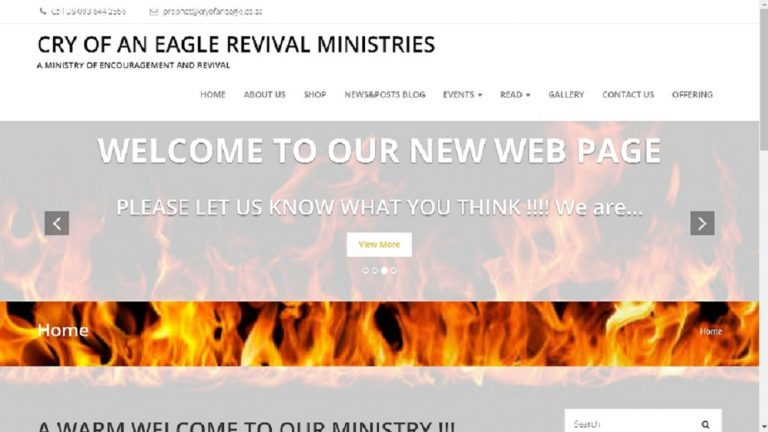Cry of an Eagle Revival Ministries