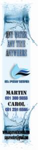 SA Pure Water Flag Design