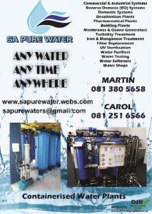 SA Pure Water Pamphlet