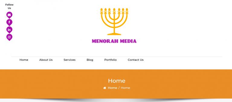 Menorah Media - E-Commerce Coming soon