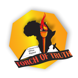 Latest Logo Design for Africa Repentance Website coming soon - Torch of Truth