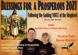 Poster for Cry of an Eagle Revival Ministries